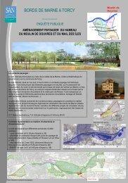 Projet d'aménagement paysager du hameau du moulin de Douvres