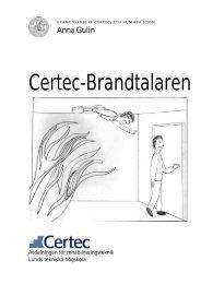Certec-Brandtalaren - Certec - Lunds Tekniska Högskola