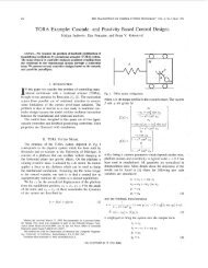 TORA Example: Cascade- and Passivity-Based Control Designs ...