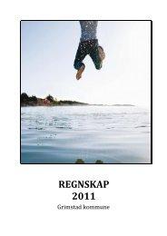 Regnskap 2011 - Grimstad kommune