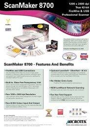 ScanMaker 8700