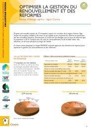 Optimiser la gestion du renouvellement et des reformes - Chambre d ...