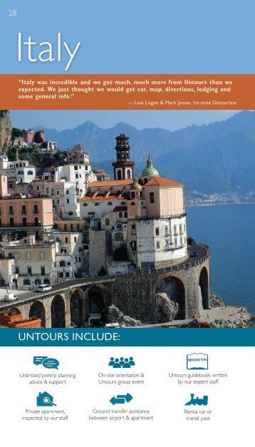 Italy - pp. 12-14 - Untours