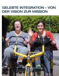 GELEBTE INTEGRATION – VON DER VISION ZUR MISSION