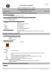 Ficha de datos de seguridad - HACH LANGE