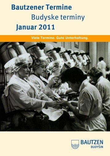 Bautzener Termine im Januar 2011 - Regional Magazin