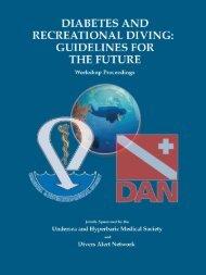 Download workshop proceedings - Divers Alert Network