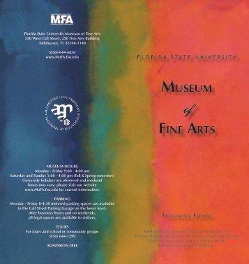 Membership Form - Museum of Fine Arts - Florida State University