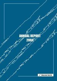 annual report 2004 annual report 2004 annual report 2004