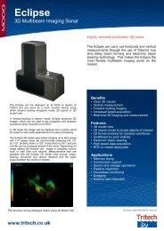 Eclipse - 3D Multibeam Imaging Sonar - Tritech International Limited
