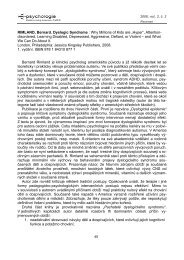 RIMLAND, Bernard. Dyslogic Syndrome : Why ... - E-psychologie