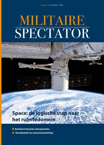 Militaire Spectator 2-2015