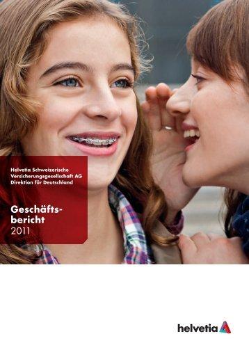 Geschäftsbericht Helvetia Direktion für Deutschland 2011