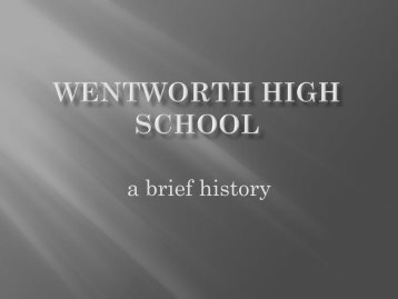 click Here - Wentworth High School