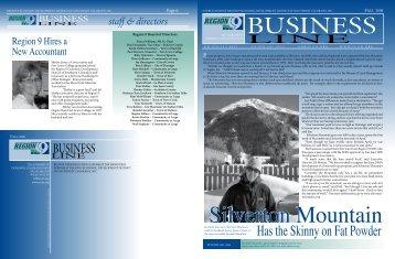 Fall 2008 Newsletter - Region 9 Economic Development District