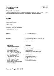 Protokoll 20. Sitzung der EK 5/1 am - Landtag Brandenburg ...