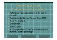 Regional Marketing_ACADEMY_EUROCAMARAS_ for ...