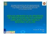 15. Análise Energética de Episódios de Precipitação Muito Intensa ...