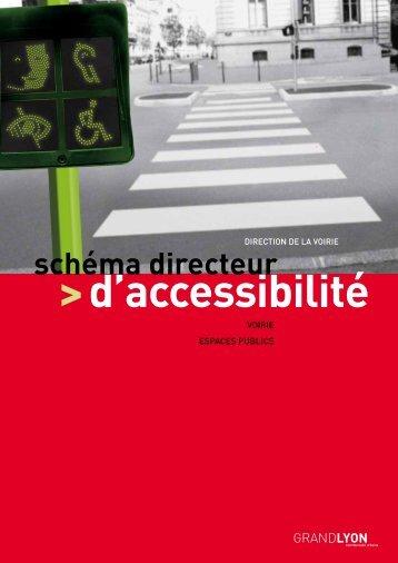 Schéma directeur d'accessibilité - Synthèse - pdf - Grand Lyon