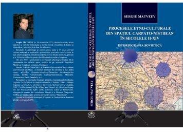 Procesele etno-culturale din spaţiul Carpato ... - Sergiu Matveev