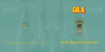 Booklet zur LP-Veröffentlichung GILA - Gaosi