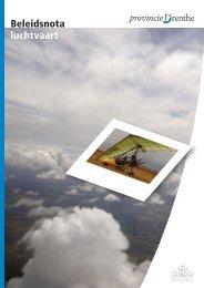 Beleidsnota luchtvaart (1327 kB) - Provincie Drenthe