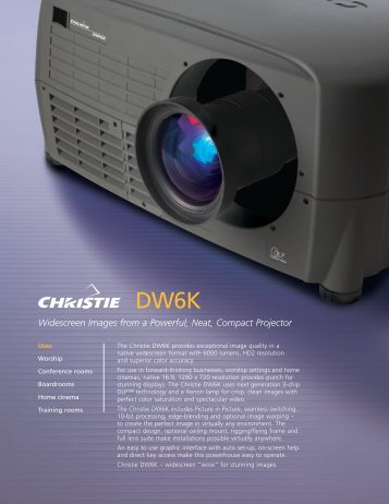 DW6K - The Projector Place