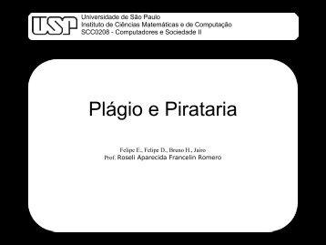 Plágio e Pirataria - USP