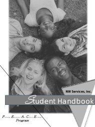 Student Handbook - NW Services