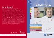 Voll des Leben - Magazin 1 2012 - Lebenshilfe Lemgo e.V.