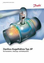 Danfoss Kugelhähne Typ JIP - Danfoss Wärme & Fernwärme