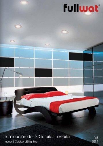 Cat&aacutelogo de Iluminaci&oacuten LED para Interior ... - Fullwat