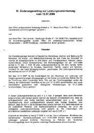 Ergänzung der Leistungsvereinbarung - DRK-Schul