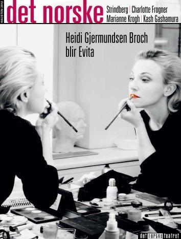 Heidi Gjermundsen Broch blir Evita - Gullblyanten