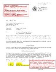 U.S. Citizenship and Immigration Services - EB-5 VISA Information
