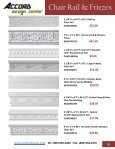 Chair Rail & Friezes - Accord-design.com - Page 7