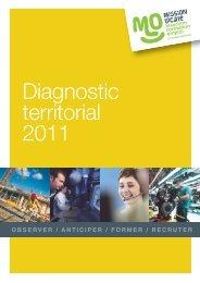 Diagnostic Territorial 2011 - Maison de l'emploi et de la formation
