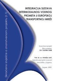skraćeno izvješće projekta - Fakultet prometnih znanosti ...