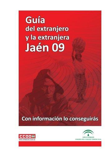 Guía para personas extranjeras - Comisiones Obreras de Andalucía