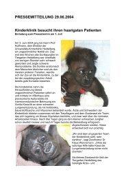 Gorillanachwuchs Kissa - Tiergartenfreunde Heidelberg eV