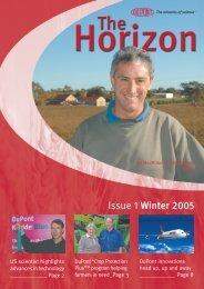Issue 1 Winter 2005 - Agtech.com.au