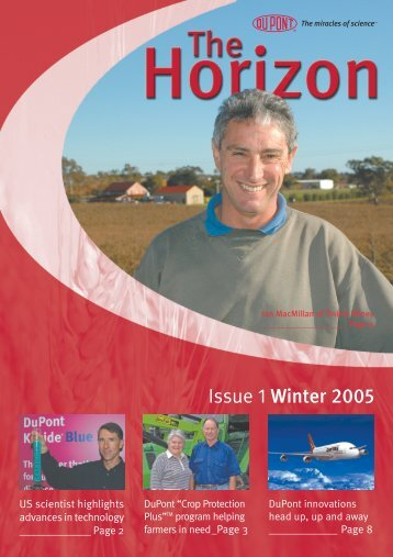 Issue 1 Winter 2005 - Agtech.com.au