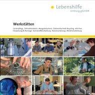 Werkstätten - Lebenshilfe Frankfurt und Lebenshilfe Limburg