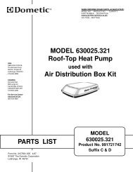 CCC 2 Thermostat Operating Instructions - Bryant RV Services