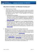 Jugendschutz im Internet Leitfaden für Anbieter von Websites - FSK - Page 5