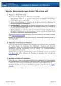 Jugendschutz im Internet Leitfaden für Anbieter von Websites - FSK - Page 6