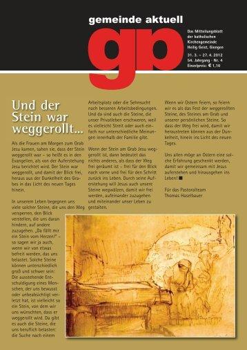 "GA Nr. 4 Ostern 2012_Nr 9 - Seelsorgeeinheit ""Unteres Brenztal"""