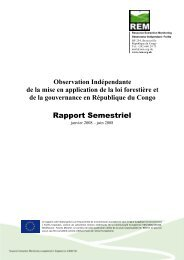 REM Rapport Annuel No. 1 OIF Congo Brazzaville - Observation ...