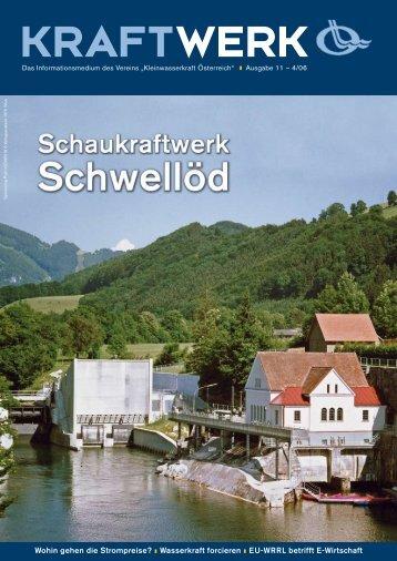 Stahlrohre Ø 500 - Kleinwasserkraft Österreich