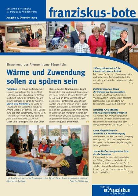 franziskus-bote - Stiftung St. Franziskus Heiligenbronn